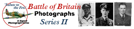Battle of Britain signed photographs ...