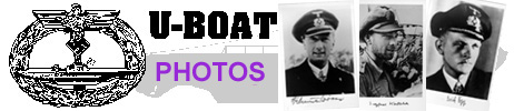 U-Boat Commander signed photographs ...
